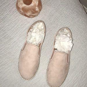 B1get1halfoff Vince Camuto pink leather slip ons 9
